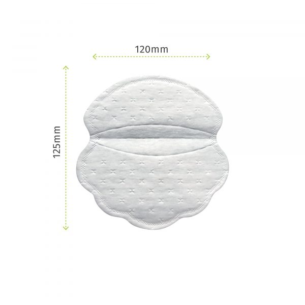 Pee Safe Disposable Underarm Sweat Pads (Folded)