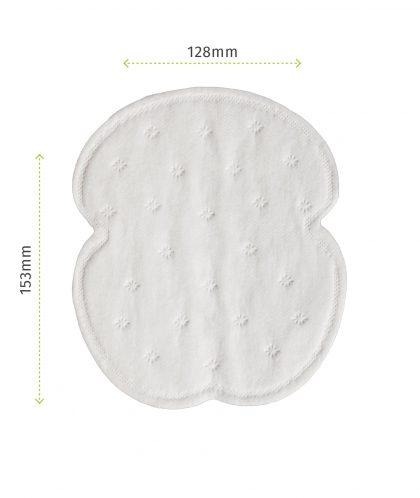 Pee Safe Disposable Underarm Sweat Pads (Straight)