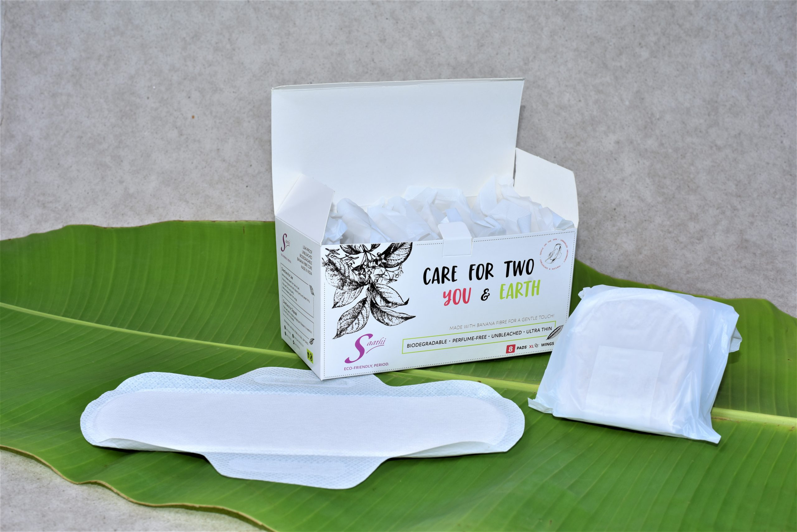 Bio degradable sanitary pads | Healthspectra