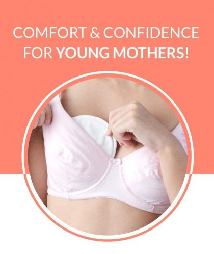 Sirona Disposable Breast Pads with Super Soft and Top Absorbency