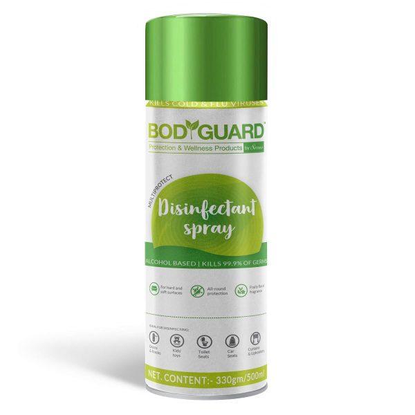 BodyGuard Multipurpose Alcohol Based Disinfectant Spray - 500 ml
