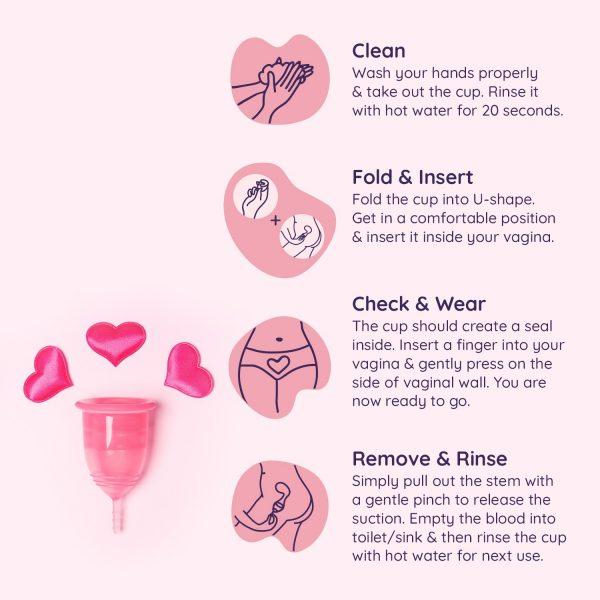 Sanfe Reusable Menstrual Cup