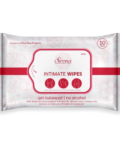 Sirona Intimate Wet Wipes – PH Balanced wipes for Intimate areas