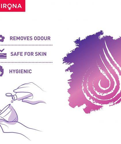 Sirona Hygiene Menstrual Cup Wash – 100 ml