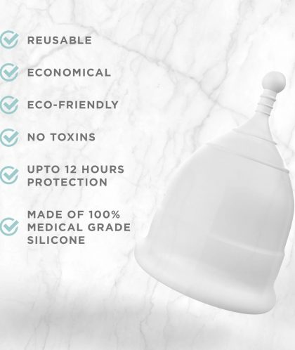 PEE SAFE REUSABLE MENSTRUAL CUP