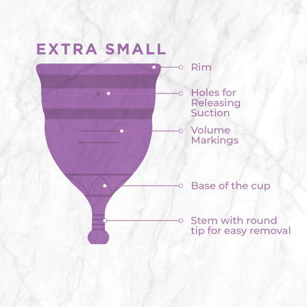 PEE SAFE REUSABLE MENSTRUAL CUP