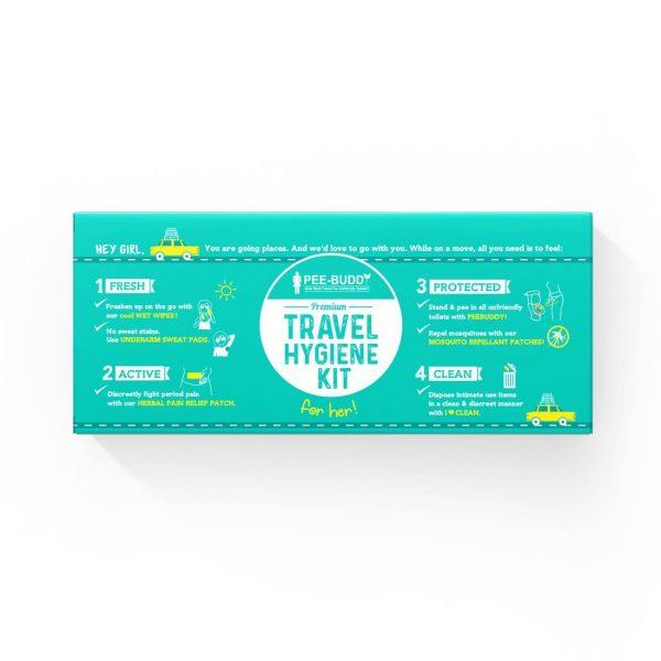 PeeBuddy – Premium Travel Kit | Hygiene On The Go | Travelling Partner