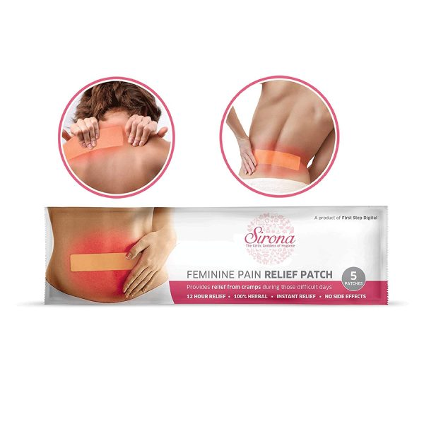 Period Pain Relief Patches – Herbal Ingredient | No Side Effect | 5 Patches