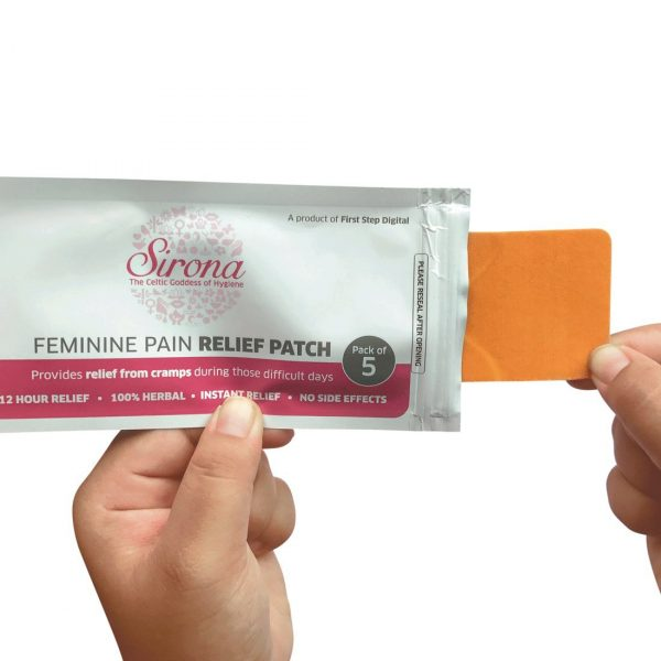 Sirona Herbal Period Pain Relief Patches - Pack of 10