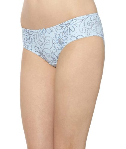 Triumph Women Blue Hipster Briefs