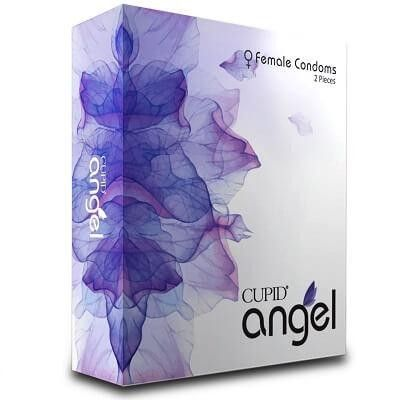 Cupid Angel Female Condoms-2 Pieces