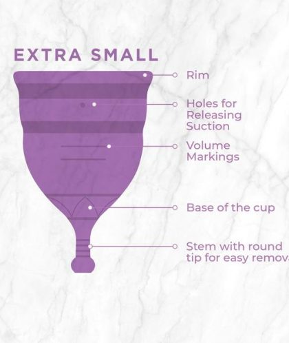 PEE SAFE REUSABLE MENSTRUAL CUPS