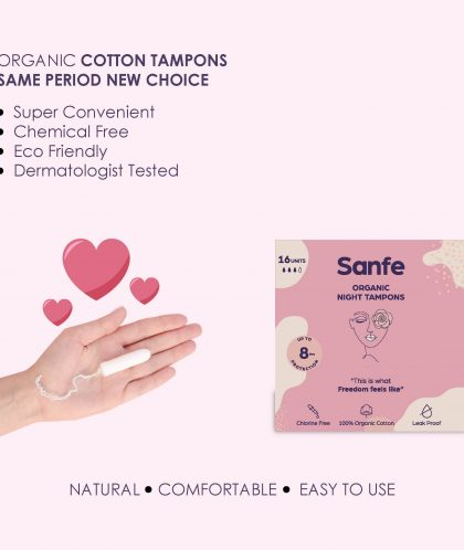 Sanfe - Power Duo - Day + Night Tampons