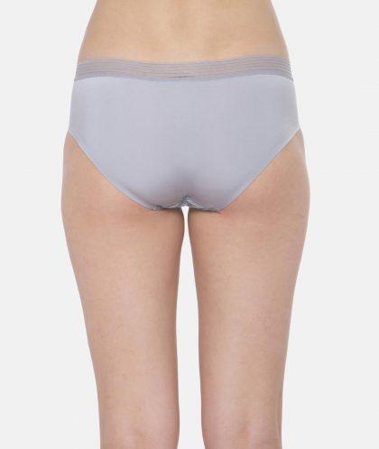 Triumph Women Grey Solid Hipster Briefs