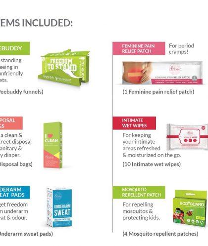 PeeBuddy – Standard Travel Kit | Hygiene On The Go | Travelling Partner